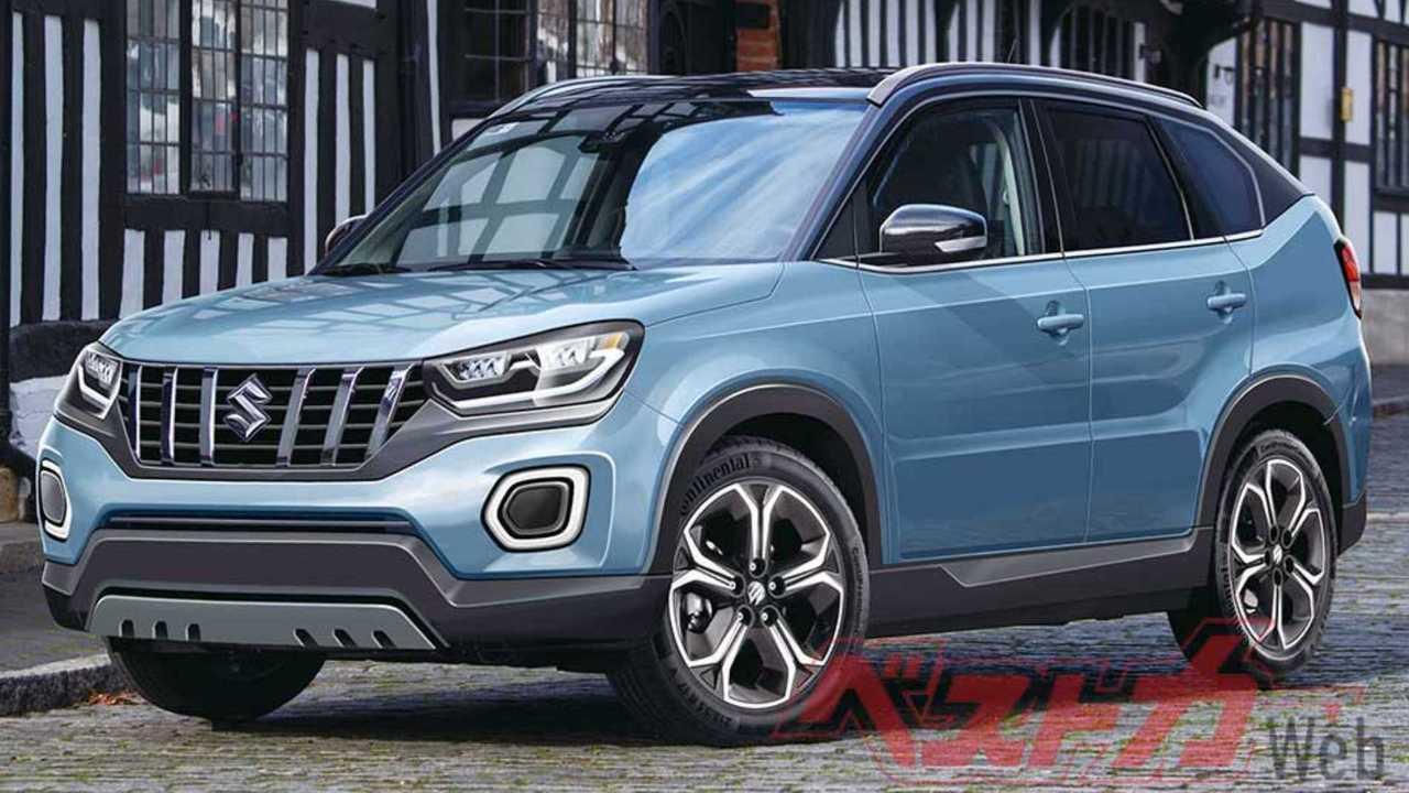 Novo Suzuki Vitara 2021 - Projeção