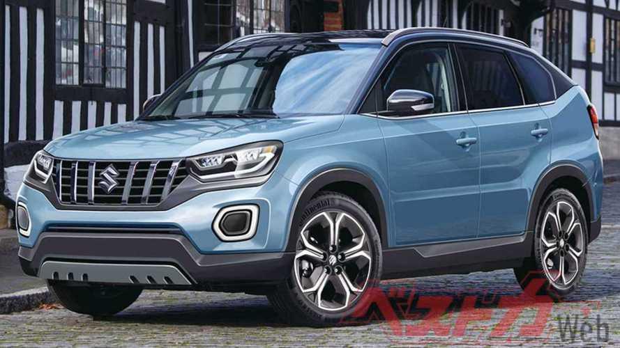 Novo Suzuki Vitara estreia no fim do ano para encarar HR-V e Creta