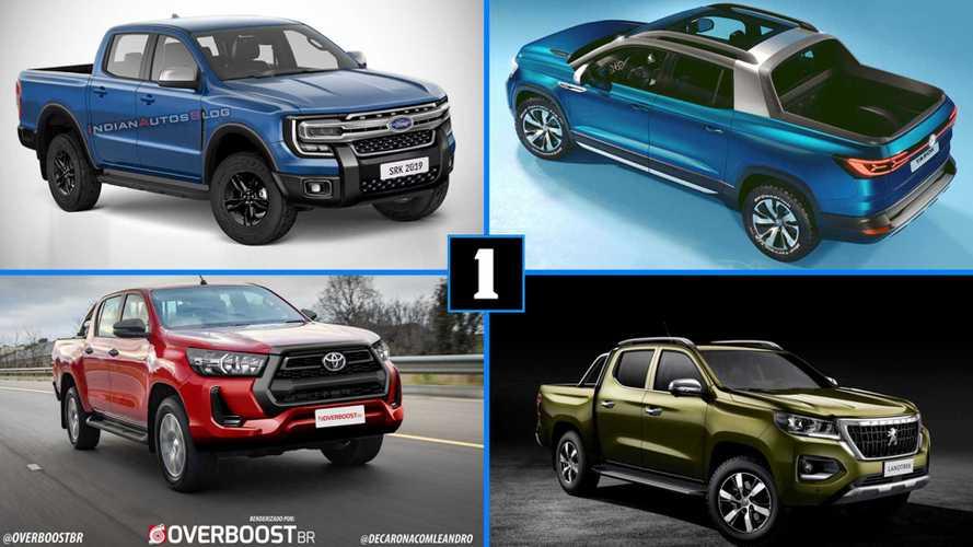 Picapes: Novas Ranger, Hilux, Landtrek, Tarok e outras que chegam até 2022