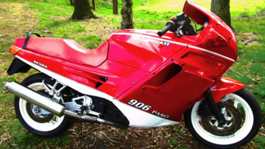 Buy the Ducati motorcycle Ferrari gave to Nigel Mansell