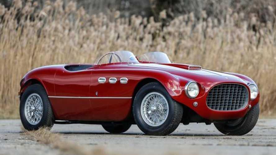 Historic Ferrari 250 MM Spider achieves $5,395,000 at auction