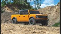 Ford Bronco Pickup Rendering