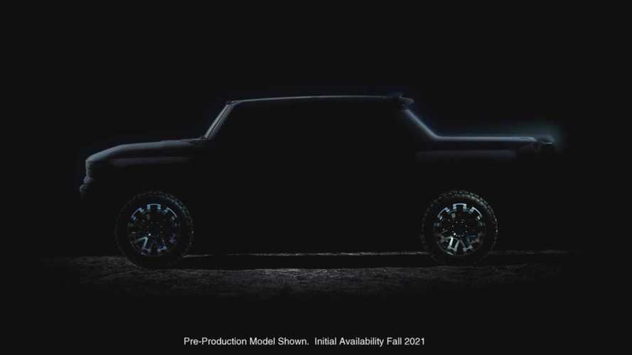 GM divulga nova imagem do GMC Hummer, mas o que seria o modo caranguejo?