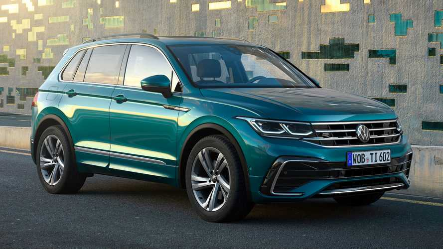 2022 Volkswagen Tiguan Debuts With Familial Facelift, More Safety Tech