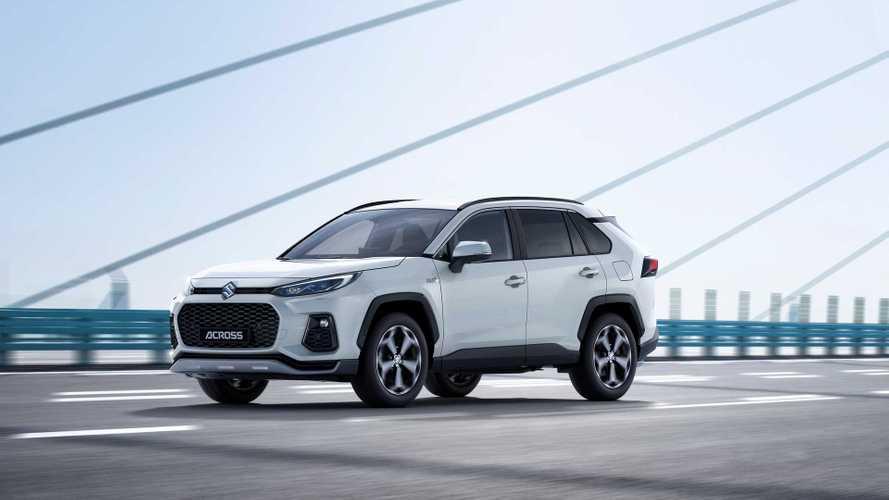 Suzuki ACROSS 2020: el primer SUV híbrido enchufable de la marca