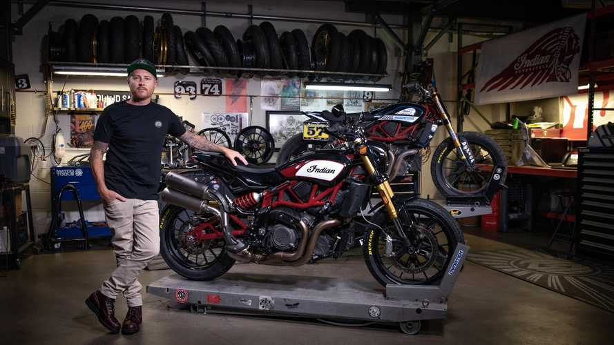 Roland Sands crea gli accessori per la Indian FTR 1200