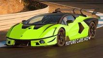 Lamborghini SCV12 renderings
