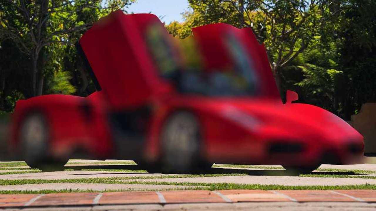 2003 Ferrari Enzo Bulanık Görüntü (Blur Efekti)