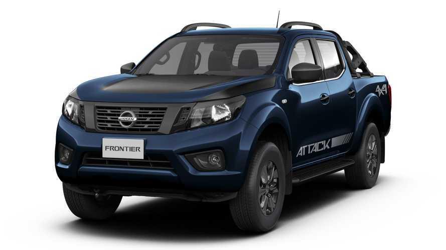 Nissan Frontier Attack passa a ser oferecida nas cores azul marinho e cinza