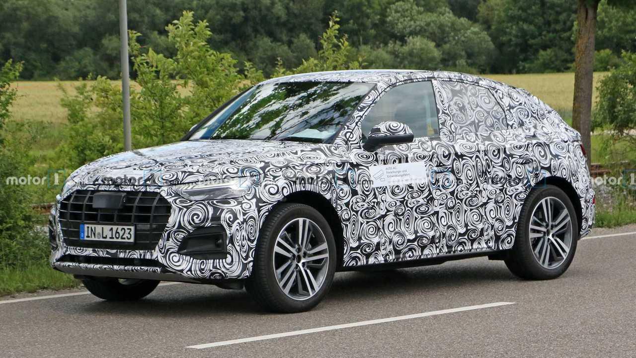 Новые шпионские фото Audi Q5 Sportback