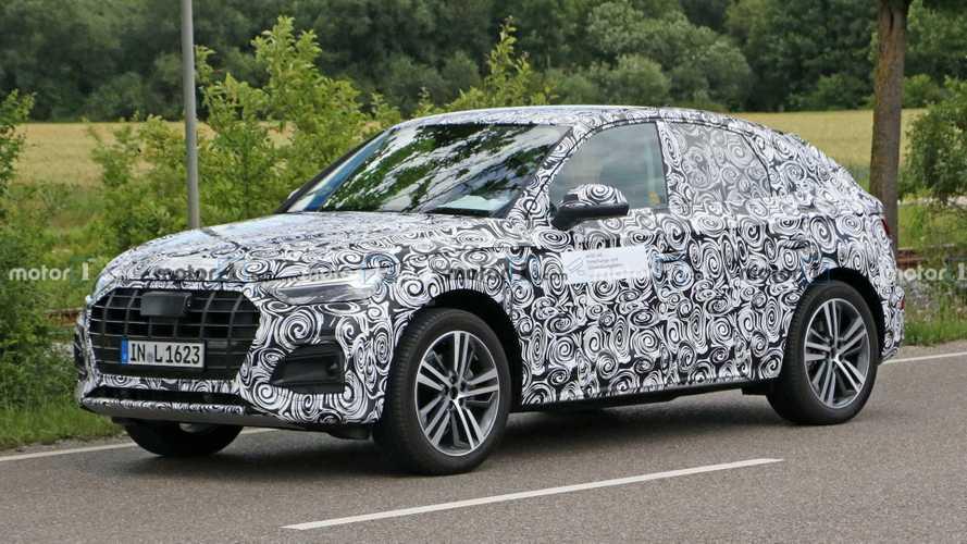 Посмотрите на испытания кросс-купе Audi Q5 Sportback