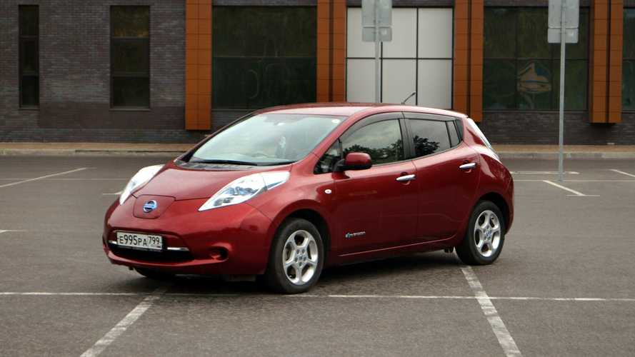 Число электромобилей в России превысило 10 тысяч штук