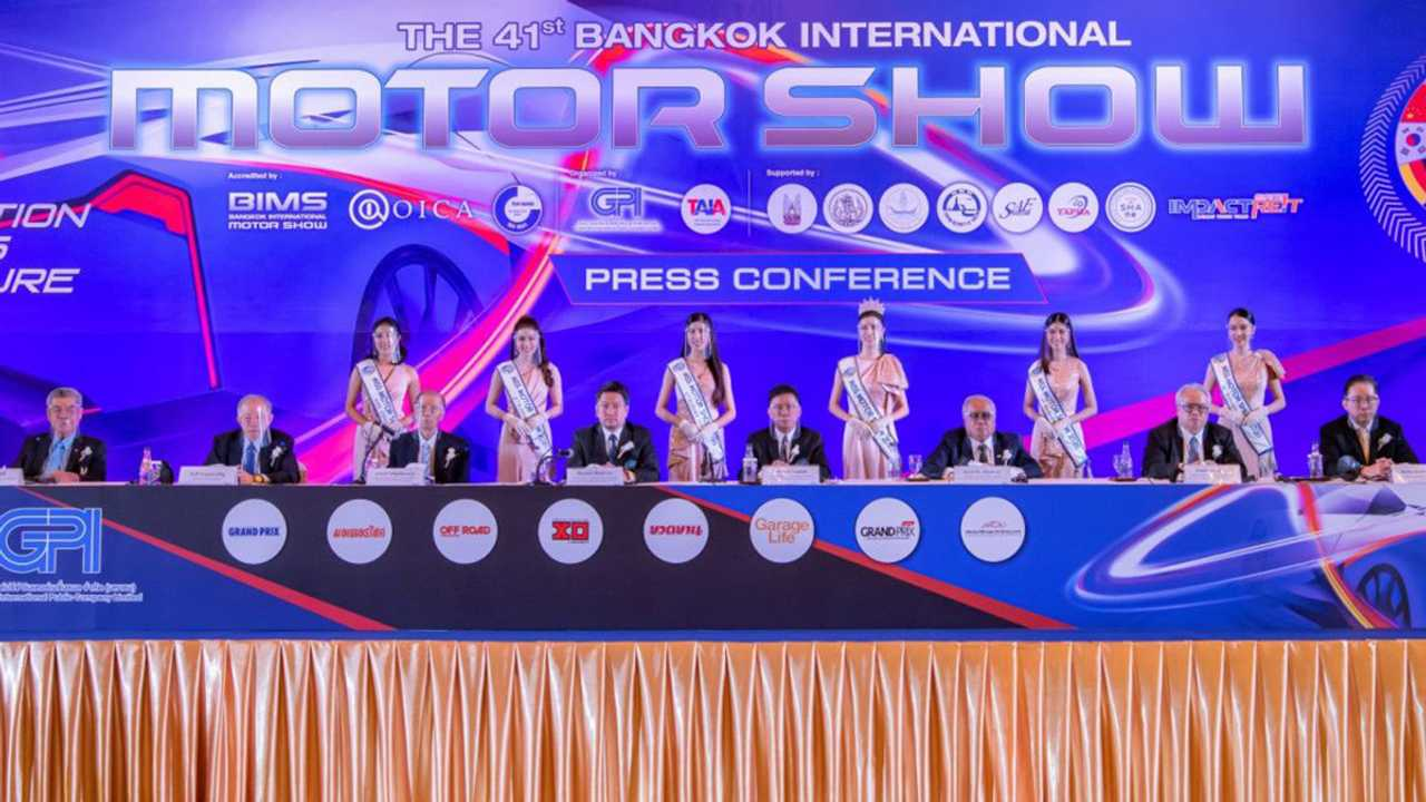 The 41st Bangkok International Motor Show Is Pushing Through