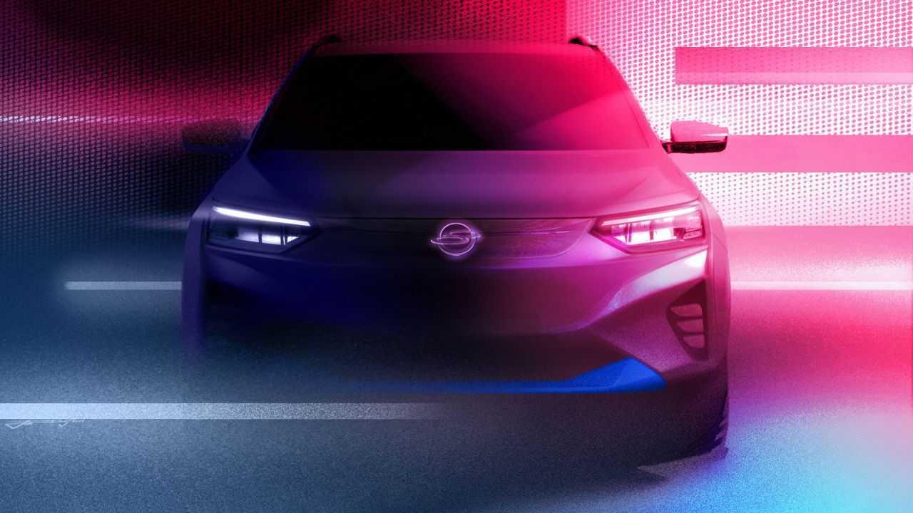 Teaser primer SsangYong eléctrico 2021