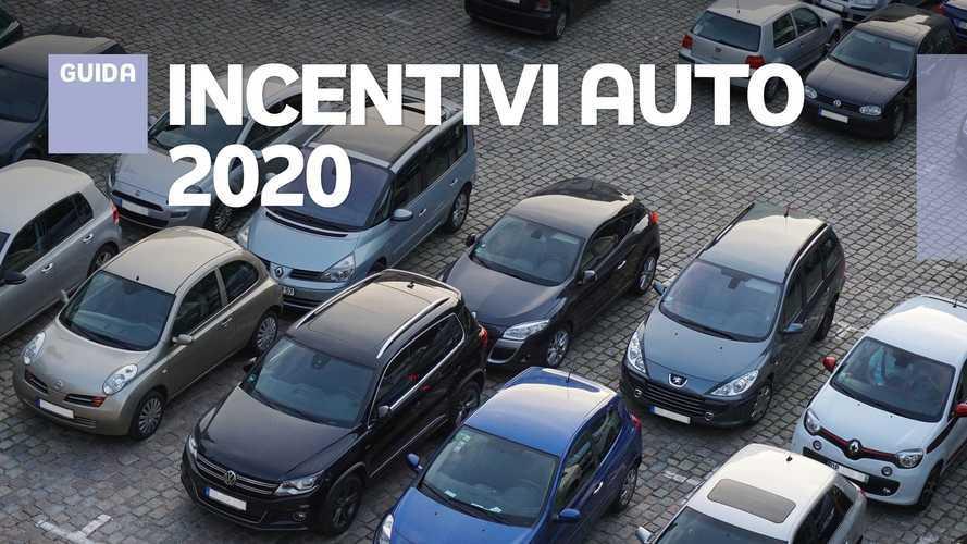 Come comprare l'auto nuova con gli incentivi 2020