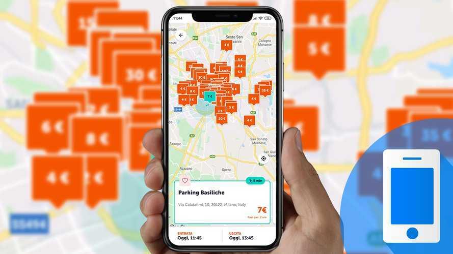 App in prova, come funziona Parclick per cercare e prenotare parcheggi