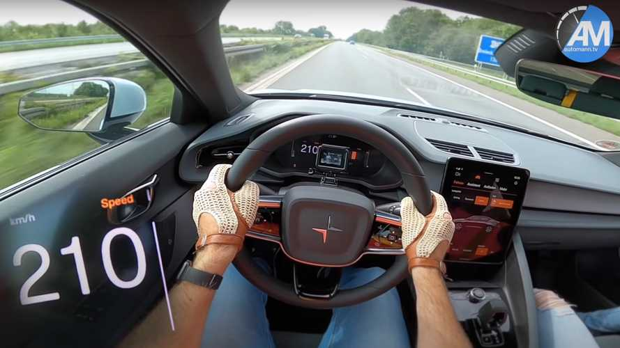 Experience Polestar 2 Acceleration And Top Speed Via POV Video