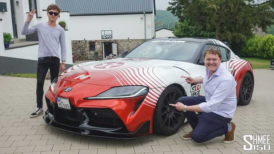 Videó: Némi tuning és a Toyota Supra már száguldozhat kedvére a Nürburgringen