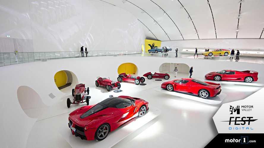 Museo Enzo Ferrari, una visita in streaming dove tutto ebbe inizio