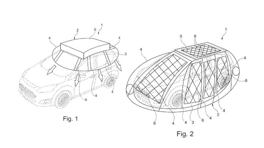 Ford Patents Solar Charging Cocoon For Its Electric Car: Will It Be Sold?