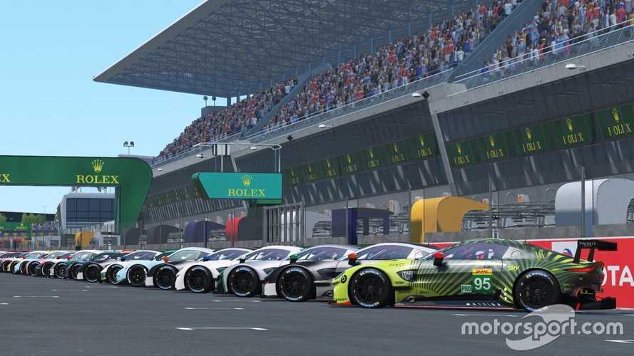 Las 24 Horas de Le Mans virtuales se disputarán en junio