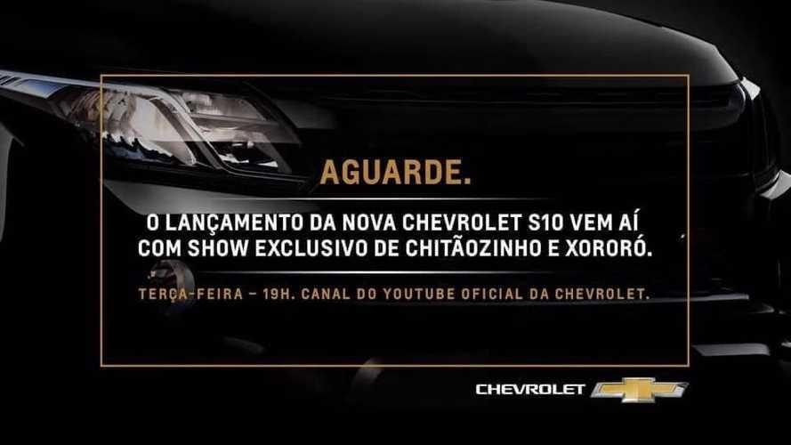 Nova Chevrolet S10 2021 será revelada amanhã (28) com direito a show sertanejo