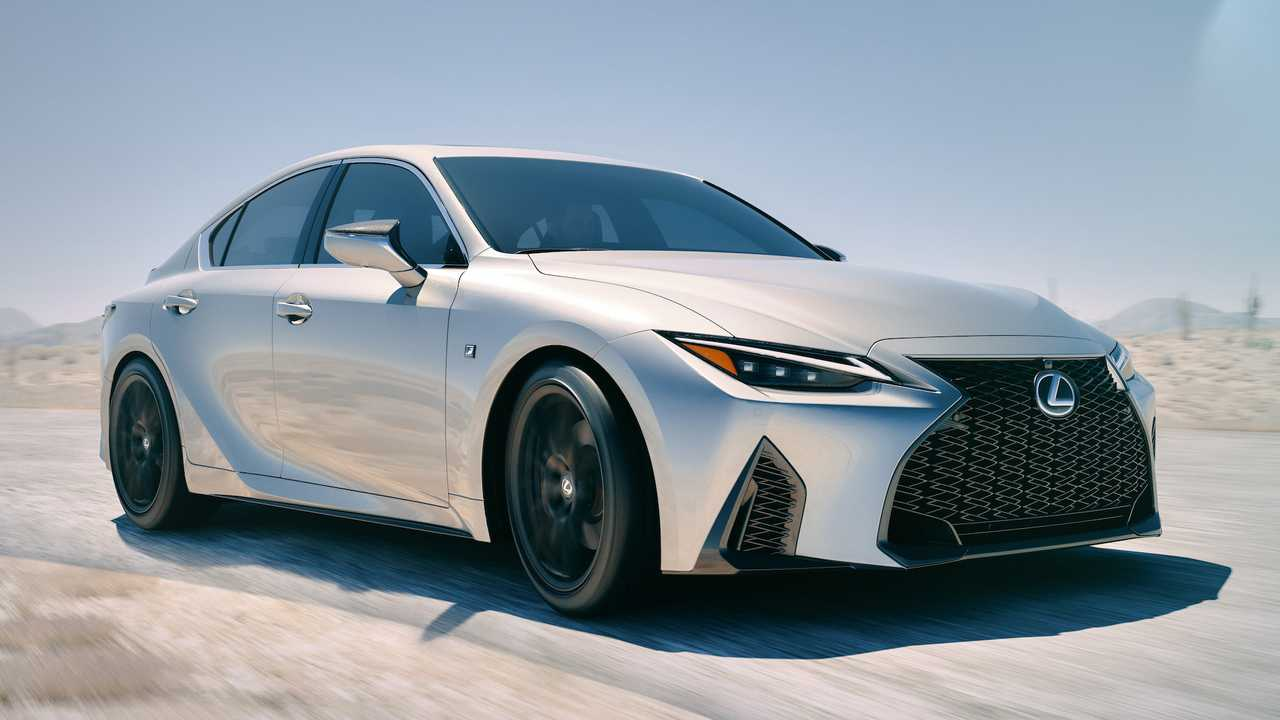 2021 lexus is debuts with sharp styling  more tech  but same engines