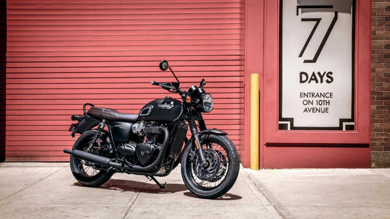 Triumph Bonneville T100 and T120 Black Edition Coming To India
