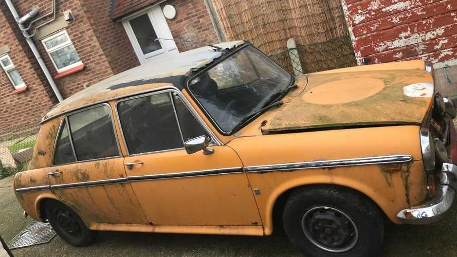 This Austin 1300 GT is shouting to be rescued