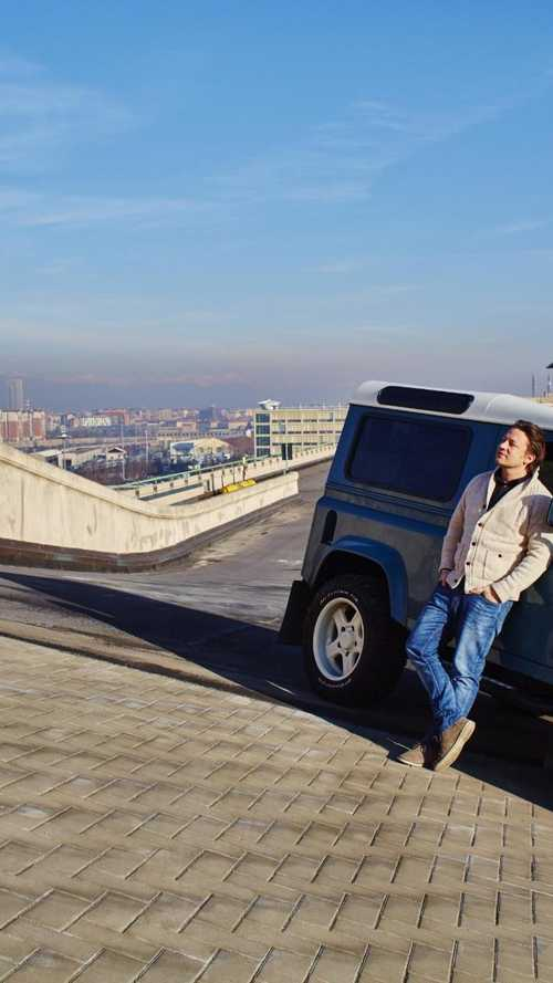 The Land Rover cooked up for Jamie Oliver
