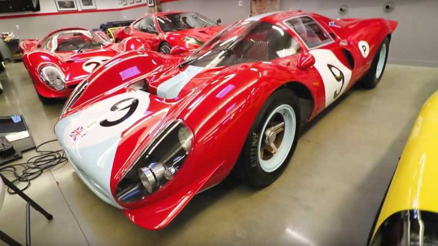 Watch: Inside Jim Glickenhaus' incredible garage of supercar creations