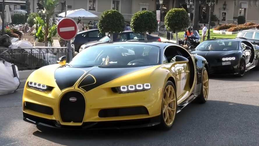 Előkerült Űrdongó távoli unokatestvére, egy Bugatti Chiron személyében