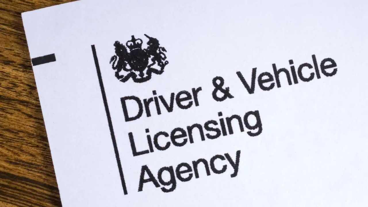 DVLA Driving and Vehicle Licensing Agency leaflet