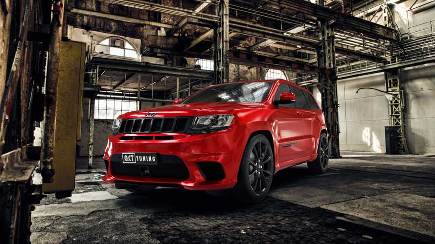 Jeep Grand Cherokee Trackhawk de O.CT Tuning