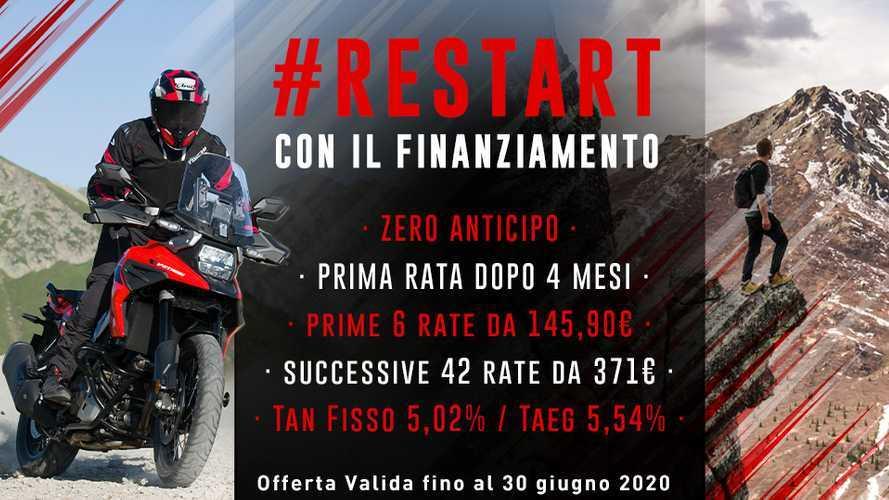 Suzuki Restart: la promozione per ripartire in moto