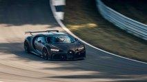 developpement bugatti chiron pur sport