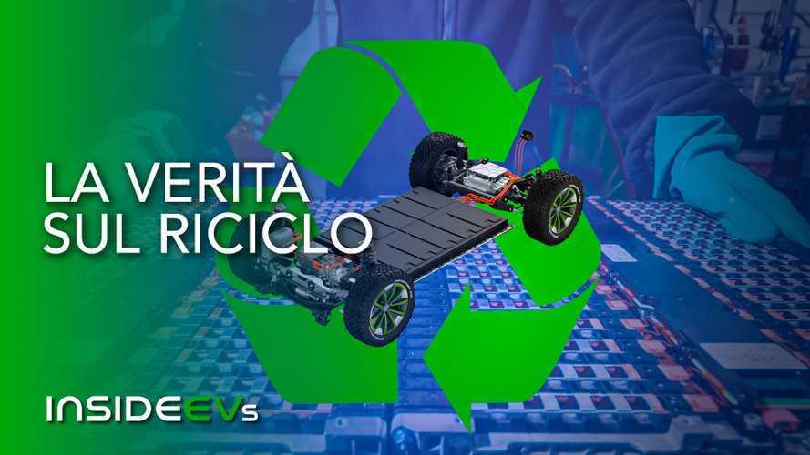 Auto elettriche, verità e prospettive per il riciclo delle batterie