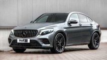 H&R-Sportfedern und Spurverbreiterungen fürs Mercedes GLC Coupé