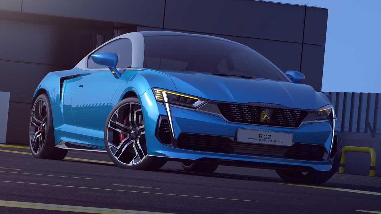 Rendu du concept Peugeot RCZ 2020