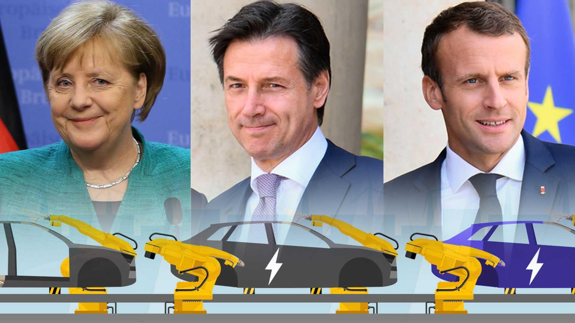 Incentivi auto: perché Italia, Germania e Francia vanno in ordine sparso