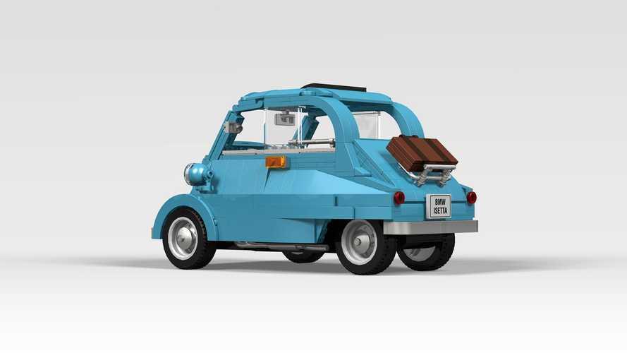 ¡Votos a favor para este BMW Isetta de Lego Ideas!
