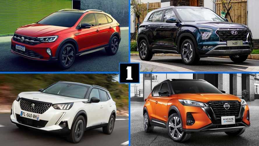 Além do Nivus: novos Kicks, Creta, Captur e outros SUVs compactos que chegam até 2021
