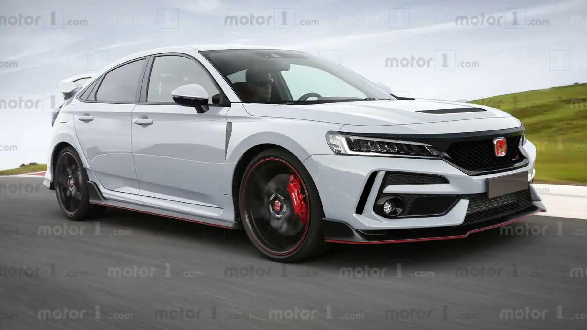 2021 Honda Civic Hybrid Spy Shoot
