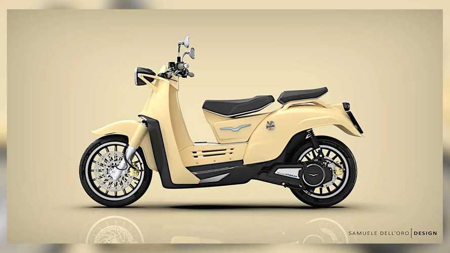 Moto Guzzi Galletto Hybrid Concept