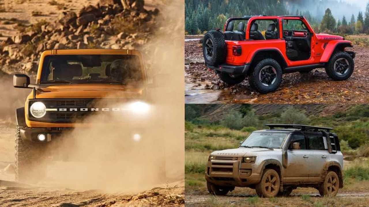 2021 Ford Bronco Vs The Competitors