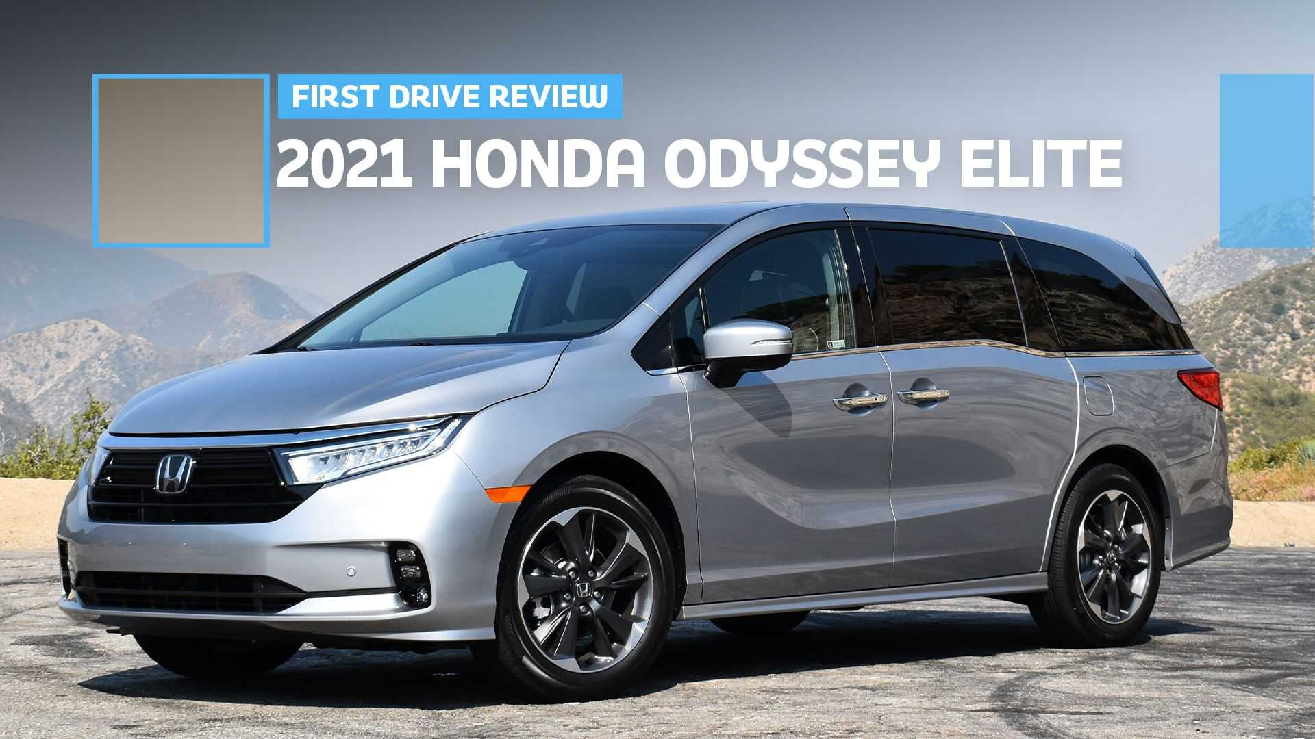 2021 Honda Odyssey First Drive Review: The Future Looks Good