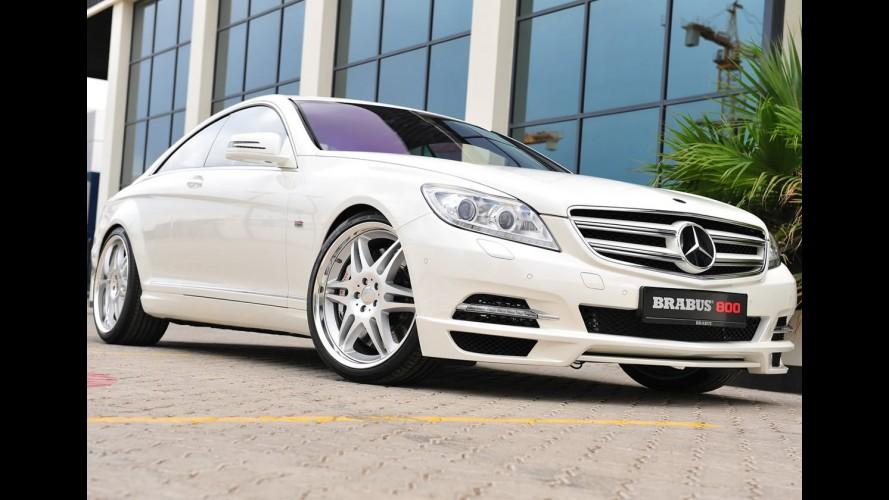 Mercedes CL 600 preparada vira Brabus 800 Coupé - Zero a 100 km/h é feito em 3,9 segundos