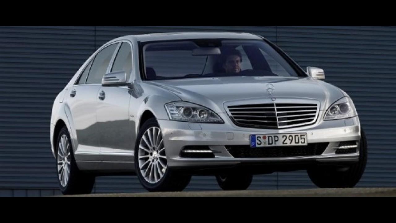 Mercedes apresenta novo S500 BlueEfficiency na Argentina