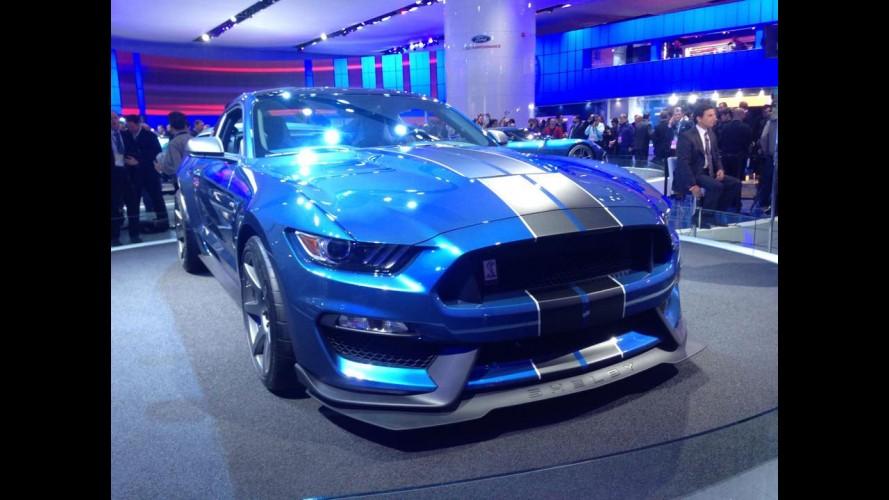 """Salão de Detroit: Shelby GT350R supera 500 cv como o """"mais preparado"""" já feito"""