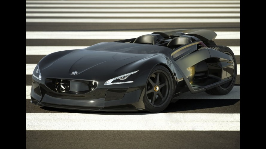 Carro do Batman? Peugeot mostra o EX1 Concept 2010